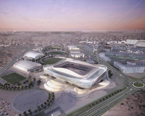 The stadium will be converted into a 20,000-capacity arena following the tournament