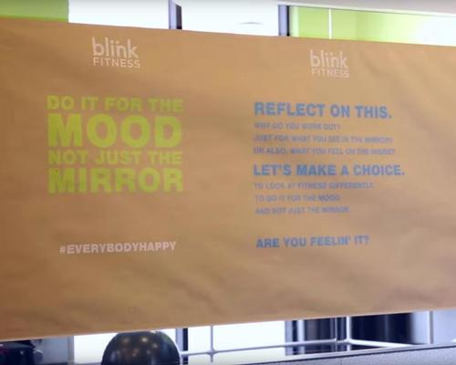Blink Fitness banishes mirrors from gym floor