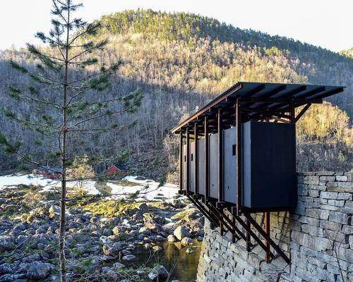 The new installation at the old zinc mines in Sauda has been designed by architect Peter Zumthor / Lars Grimsby