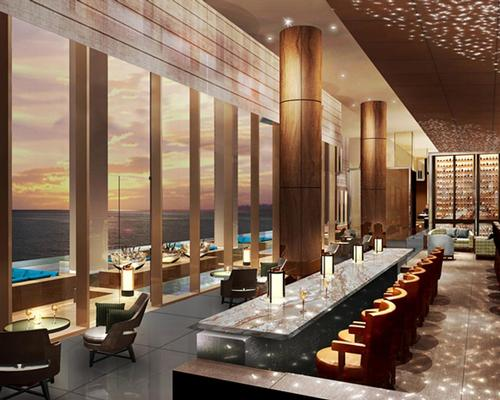 The hotel features six restaurants and lounges, including a brasserie serving sustainable and organic dishes, a modern Chinese restaurant and an al fresco cocktail bar