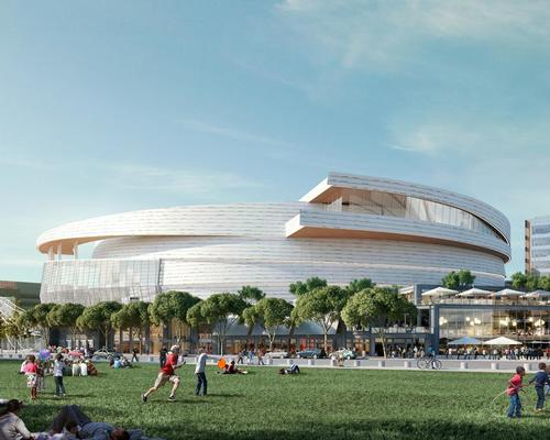 The arena is expected to open in time for the 2019/20 NBA season / MANICA Architecture