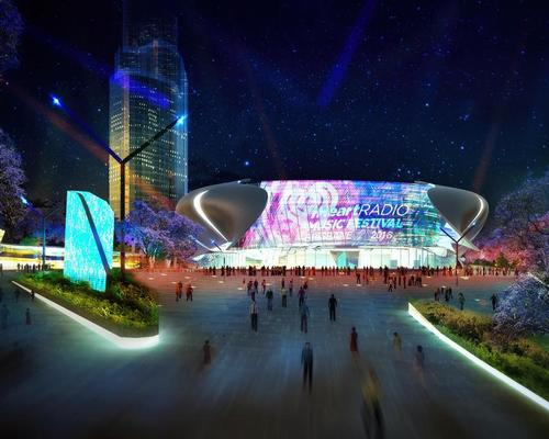 At the heart of the design is a 17,000 seat arena able to host a multitude of events from music to indoor sports / The NRA Collaborative