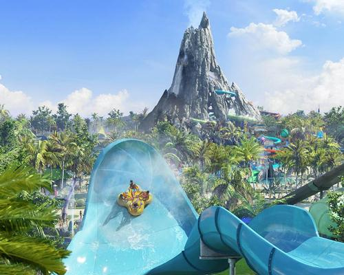Volcano Bay has been created by Universal's in-house design team