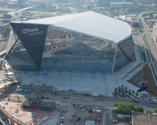 The 70,000-capacity stadium cost US$1.1bn to build / Minnesota Vikings