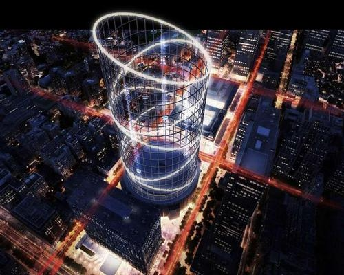 The structure would be 1,200ft high and 60ft in diameter, making it taller than the Empire State Building / AE Superlab