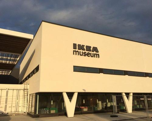 The IKEA Museum is housed within a 7,000sq m building designed by Swedish architect Claes Knutson in the late 1950s / IKEA Museum