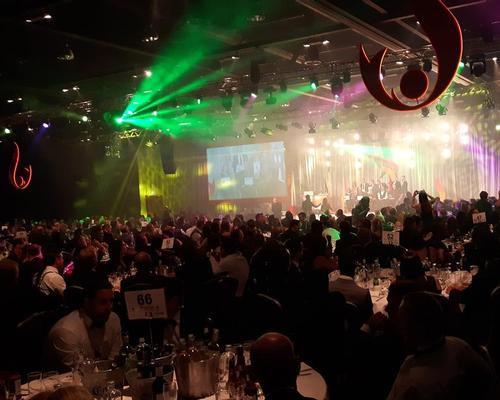Around 850 industry representatives attended last year's award ceremony