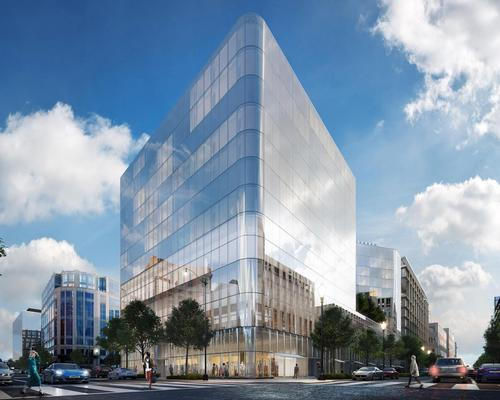 The hotel will have a striking all-glass exterior / Conrad Hotels and Resorts