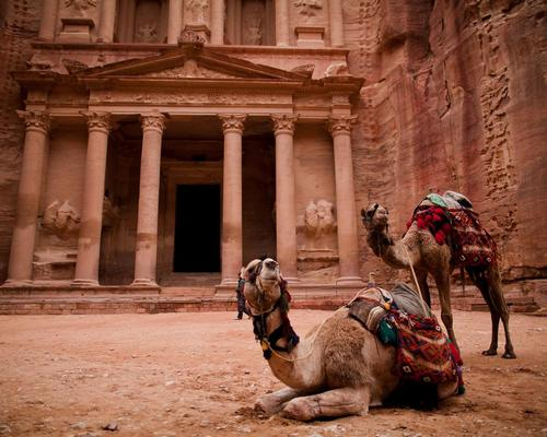 The Unesco World Heritage Site of Petra is arguably Jordan's most recognisable attraction