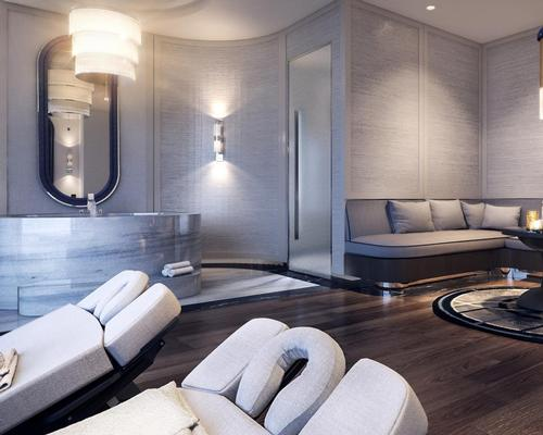 Crown Towers Perth will include a Crown Spa designed by Australian interior designer Blainey North