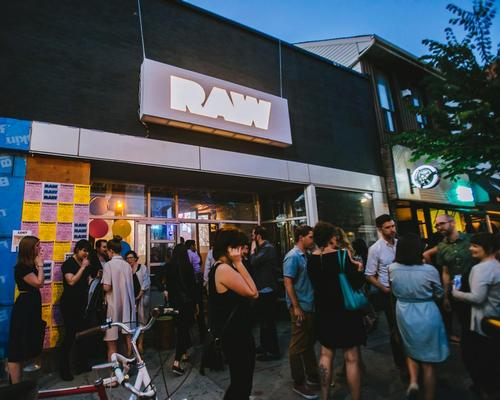 RAW Shift was a one-night architectural stunt created by RAW Design / RAW Design