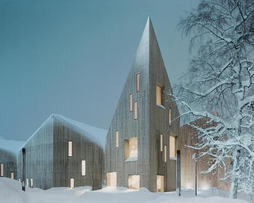 The Romsdal Folk Museum in Molde by Reiulf Ramstad Arkitekter is nominated in the Culture category / Reiulf Ramstad Arkitekter