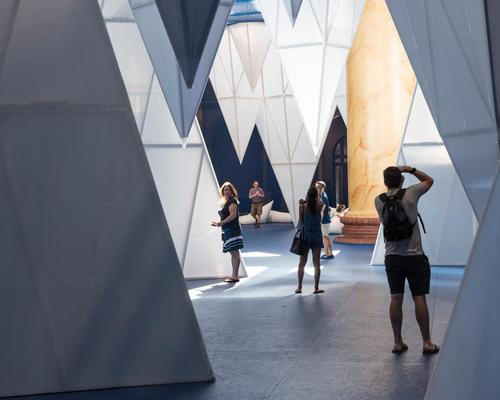 The space is used partly to educate visitors of the perils of climate change / Timothy Schenck
