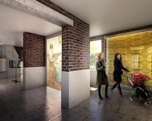 The museum explores the changing role and status of the home from 1600 to the present day / Wright & Wright Architects