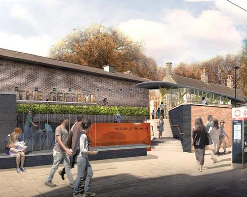 A new entrance will be created opposite Hoxton station, enhancing the pedestrianised plaza behind the museum and improving transport links / Wright & Wright Architects