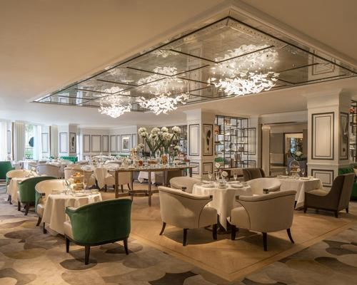 Style and comfort were prioritised by the designers / Grosvenor House Hotel