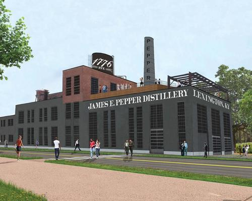 A James E. Pepper distillery is returning to Lexington, fuelling the development of the neighbourhood / Lock Aeck Sargant