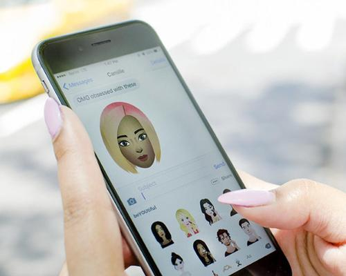 The keyboard offers 130 playful and on-trend emojis created for beauty enthusiasts