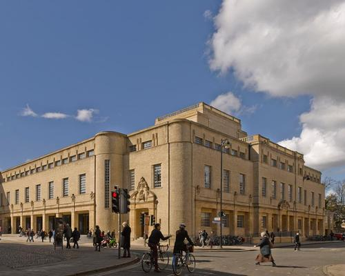 WilkinsonEyre are nominated for their revamp of the historic Weston Library in Oxford / James Brittain