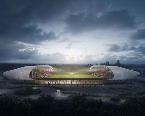 Zaha Hadid Architects' proposal for the stadium / Zaha Hadid Architects