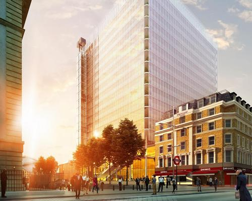 The Paddington Cube is Piano's revised design for the site / Sellers Property Group