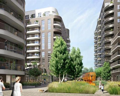 The development will comprise of 605 new homes and commercial space / QPR