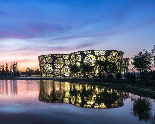 The striking floral Rose Museum opened in Beijing / Xiao Kaixiong