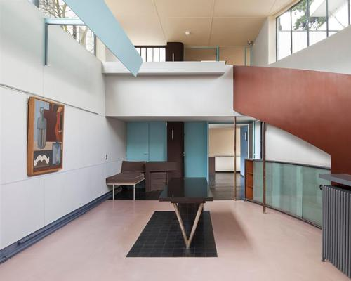Painting gallery, Maison La Roche / FLC/ADAGP