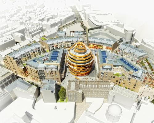 The hotel will be the centrepiece of the 1.7m sq ft Edinburgh St James leisure scheme / W Hotels