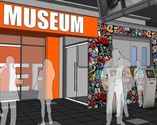 The museum will feature interactive areas and attractions / Image via Curbed