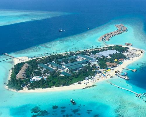 Developer Crown & Champa Resorts claims that the Hurawalhi Island Resort will 'put as much back into its surroundings as it takes out.' / Crown & Champa Resorts