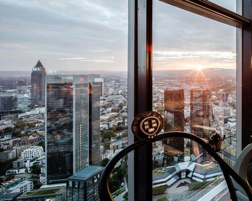 Europe's 'highest' health club opens in Frankfurt's financial district