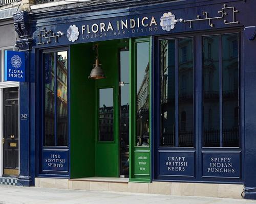 The restaurant is now open in South Kensington, London / Flora Indica