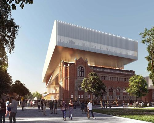 Heritage and modern design meet in the new WA Museum