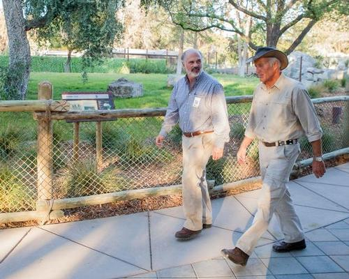 Scott Barton (left) says there's a lot more to come from the zoo / Fresno Chaffee Zoo