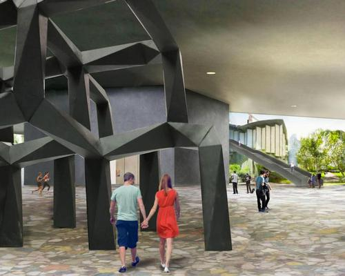 Around two and a half hectares of outdoor public space will be added to LACMA, including a sculpture garden / LACMA