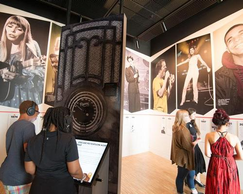 Five floors of interactive exhibition space educate visitors on the history of music / Leblond Studio