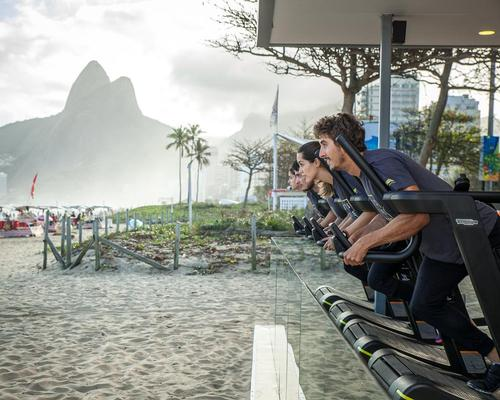 Olympic Games supplier opens pop-up gym to help Rio's disadvantaged communities