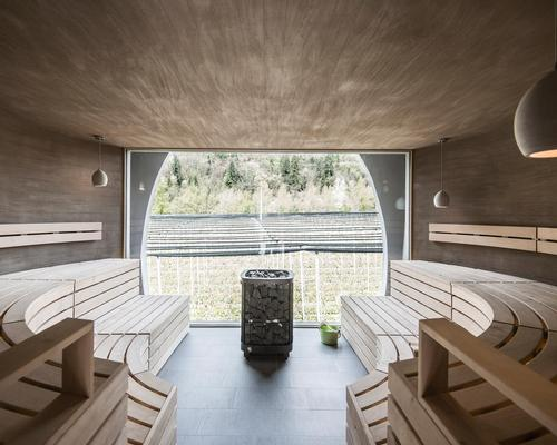 The spa at the Apfelhotel Torgglerhof in Germany by noa* / noa*
