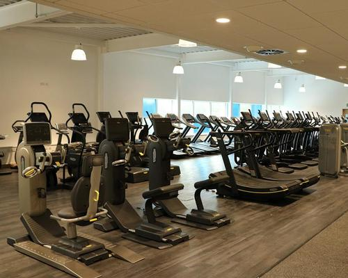 The 90-station gym has been supplied by Technogym