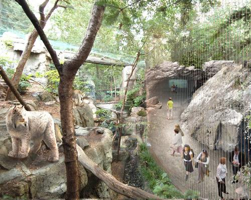 The new dome will host over 4,500 animals from 250 different species, as well as 500 plant species / KANVA
