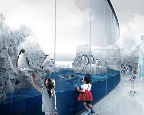 The biodome will represent four ecosystems of the Americas, including the Sub-Polar Regions  / KANVA
