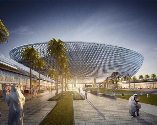 The stadium, which will have an open-tensile roof, will be available for use all year-round / Perkins + Will