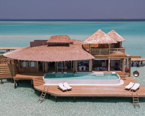 The Soneva Javi resort in the Maldives will have its soft opening in October / Richard Waite
