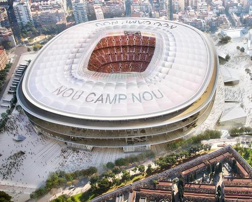 The New Camp Nou will be the heart of a new FC Barcelona leisure district called Espai Barca / FC Barcelona