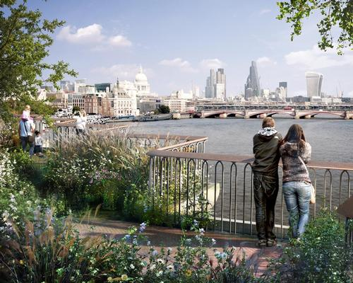 Heatherwick said a rejection of the project would show that 'we have suddenly become a society who have no confidence in ourselves' / Garden Bridge Trust