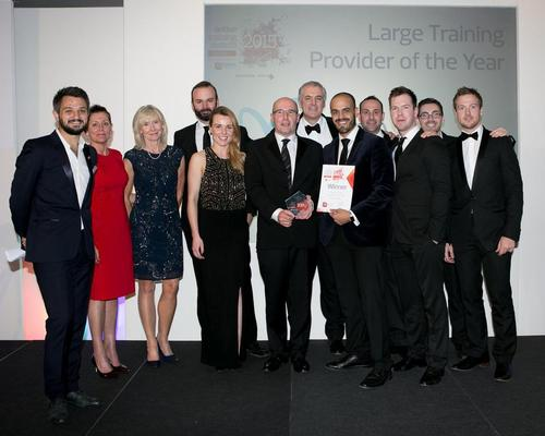 Lifetime Training scooped a trio of gongs at the Active Training Awards 2015