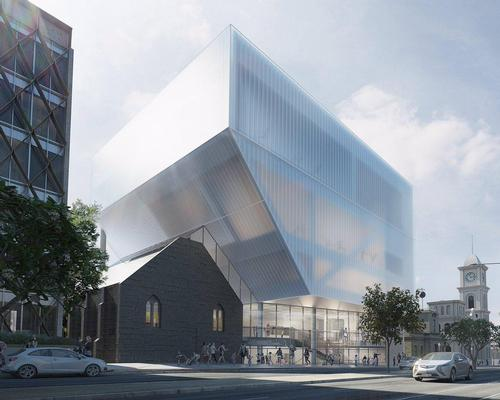 The AUS$38.5m expansion will include new dance studios, rehearsal facilities and creative industries offices / Hassell