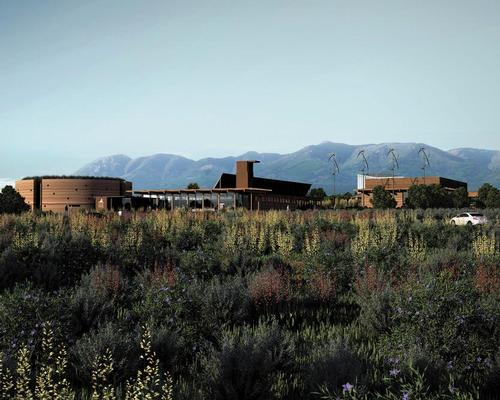 The centre has nature at its heart, with 48 acres of juniper, pinyon, and sagebrush outside,