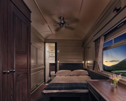 Guests watch the passing landscape from the comfort of their rooms / Belmond
